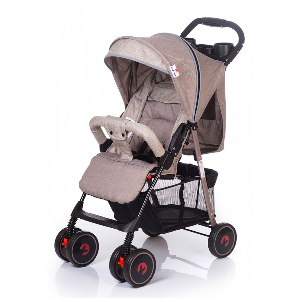 Mother & Kids Activity & Gear Baby Stroller Lightweight Stroller BabyHit 274558 pouch light weight portable travel airplane baby stroller can sit lie car foldable summer baby umbrella cart trolley pram 0 3y