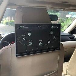 Android 9,0 ультратонкий 1920X1080 HD монитор на подголовник 12,5 дюймов IPS дисплей мультимедийная система развлечения на заднем сиденье для Audi Q5
