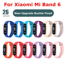 用xiaomi miバンド6 miバンド5 Mi6シリコンスポーツリストバンド交換のためxiaomi miband 6 5 miバンド5 6ストラップ
