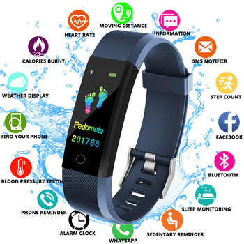 FXM 2019 Smart Watch Men Health Monitor Heart rate/Blood Pressure/Pedometer Bluetooth Waterproof Sports Bracelet multi function smart sports watch intelligent bracelet heart rate monitor blood pressure waterproof sleep monitoring pedometer