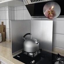 Kitchen Utensils Oil Splash Tools Stove Baffle Stainless Steel Heat Resistance Oil Splatter Prevent Proof Kitchen Guard Tools