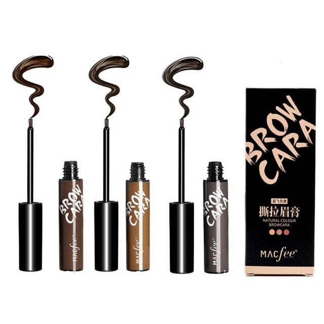 Makeup Eyebrow Enhancers Liquid Gel Long Lasting Waterproof Easy to Wear Tear Peel-off Brow Tattoo Tint Eyes Brows Natural 6