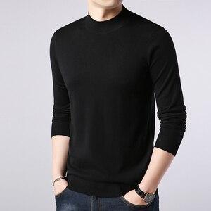 Image 5 - เสื้อกันหนาวผู้ชายCasualชายถักเสื้อSlimเสื้อกันหนาวTops 2020ร้อนยี่ห้อเสื้อผ้าPull Homme Sueteres Hombre Cafarena