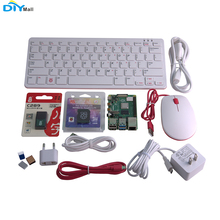 DIYmall Raspberry Pi 4 Model B 4GB Ram Kit 1.5GHz 64-bit Quad-core Keyboard Mouse 16G SD Card Kit raspberry pi 3 model b 1gb ram quad core 1 2g 64 bit cpu bluetooth wifi on board