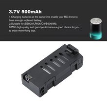 3.7V 500mAh SG800/LF606/D2/S606/M9 Battery Aircraft Battery Rechagerable Battery Spare Part