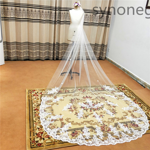 Image 4 - Véu de noiva branco marfim véus de casamento com pente novos acessórios de noiva