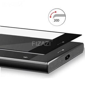 Image 2 - Protecteur décran 3D incurvé à couverture complète en verre trempé pour Sony Xperia XZ1 XZ2 Compact XZ3 X XA Ultra XA1 Plus XZ Premium