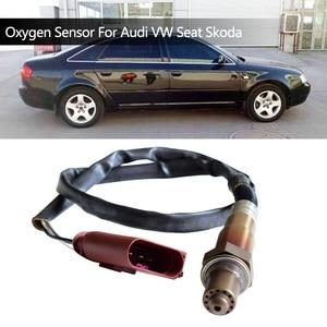 Image 1 - 4 WIRE LAMBDA SENSOR OXYGEN SENSOR FOR AUDI A6 A4 1.8T 2.0 SKODA SUPERB VW PASSAT SEAT OEM 0258006305 0258006306 058906265V