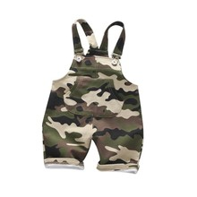 Overalls Baby-Boys-Girls Children Camouflage Pantalones Infants Kids Summer Shorts Roupas