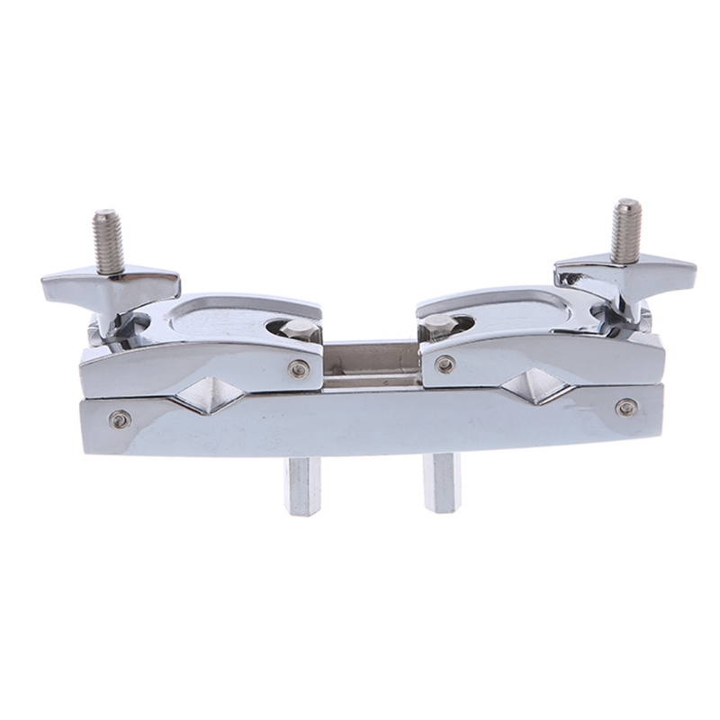 New Metal Connecting Clamp Holder Bracket Percussion Drum Set for Cowbell Accessory