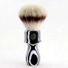 """""""Fs"""" 26mm g4 cabelo sintético escova de barbear zebra punho + suporte livre"""