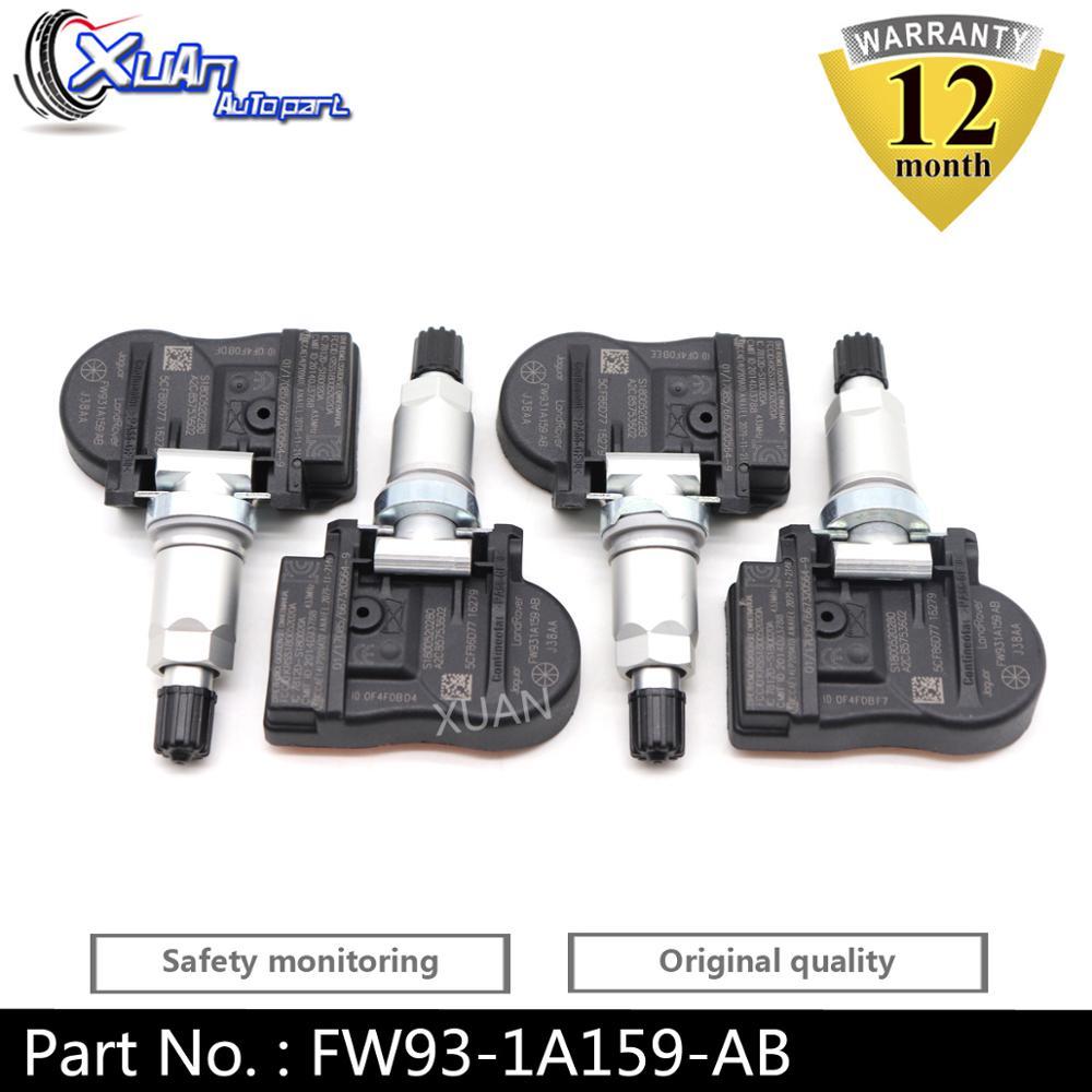 XUAN TPMS Tire Pressure Monitor Sensor FW93 1A159 AB For Peugeot 207 208 307 407 408 1007 2008 3008 Citroen C4 C5 C6 C8 433MHz|Tire Pressure Alarm| |  - title=