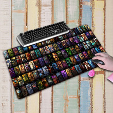 High-end pad to mouse notbook computer Large mousepad LOL gaming padmouse gamer