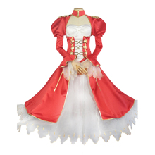 Brdwn Fate Grand Order EXTRA Womens Nero Claudius Caesar Augustus Germanicus Cosplay Costume Evening Dress