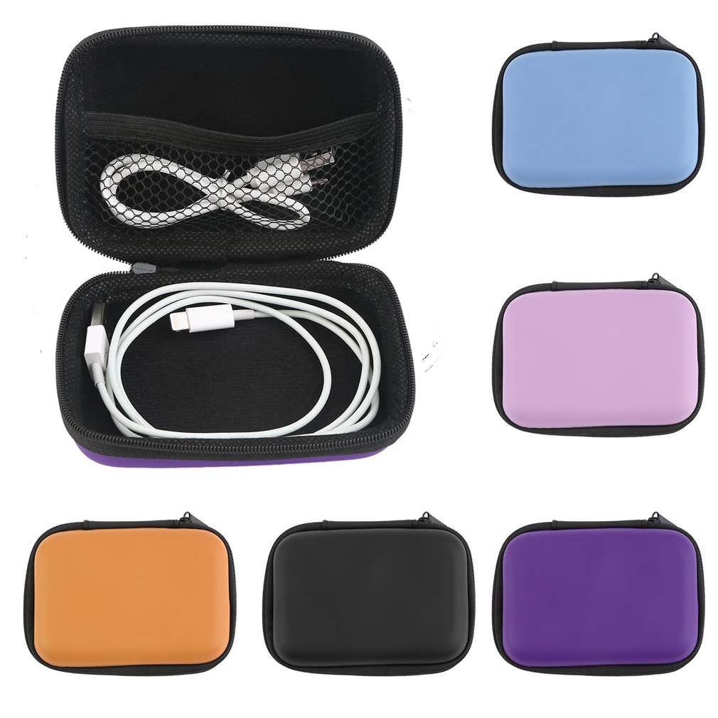 New Hard Hold Case Carrying Storage Pouch Bag Box for Earphone For Headphone