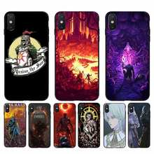 Yinuoda Praise the Sun Dark Souls Coque Shell Phone Case For iPhone 11 8 7 6 6S Plus X XS MAX 5 5S SE 2020 XR 11 pro Cover