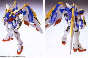 Image 2 - BANDAI MG 1/100 Model Wing Gundam Ver. Ka Kaart Versie Vliegende Vleugel Gemonteerd Tot Action Toy Figures