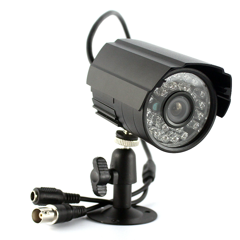 SMTKEY 1000TVL Color Video Metal Housing Surveillance Security Camera Day&Night Indoor Outdoor Analog CVBS CCTV Camera