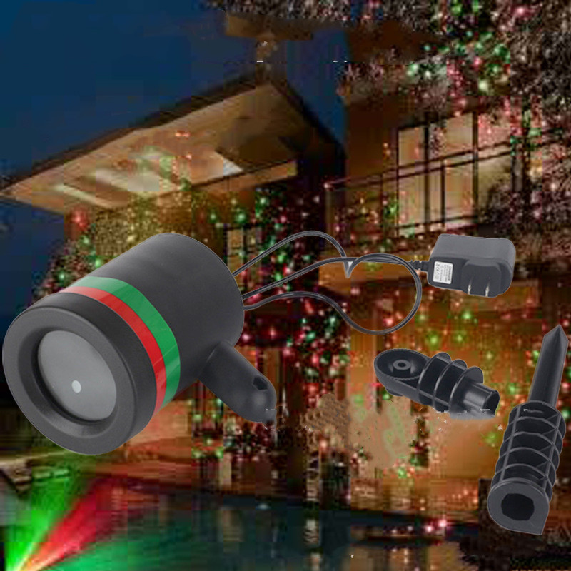 Outdoor Garden Lawn Stage Effect Light Fairy Sky Star Laser Projector Waterproof Landscape Park Garden Christmas Decorative Lamp