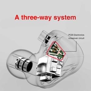 Image 5 - TRN BA5 5BA 10 шт. сбалансированные арматурные наушники вкладыши HIFI металлическая гарнитура с монитором шумовые наушники ZS10PRO ZSX V90 BA8 ZAX