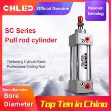 Pneumatic Cylinder SC Standard Air Cylinder 32/40/50/63/80mm Bore 25/50/75/100/125/150/175/200/250mm Stroke Pneumatic Cylinder