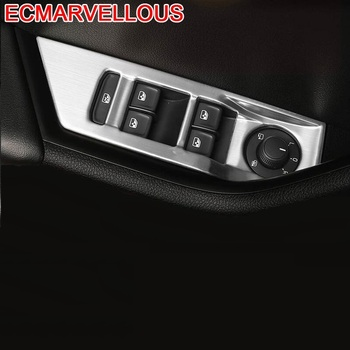 Window Control System Panel Automobile Modified Chromium Decorative Car Styling Accessory Accessories Covers 18 FOR Skoda Superb