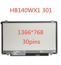For BOE HB140WX1-301 HB140WX1 301 Matrix for Laptop 14.0