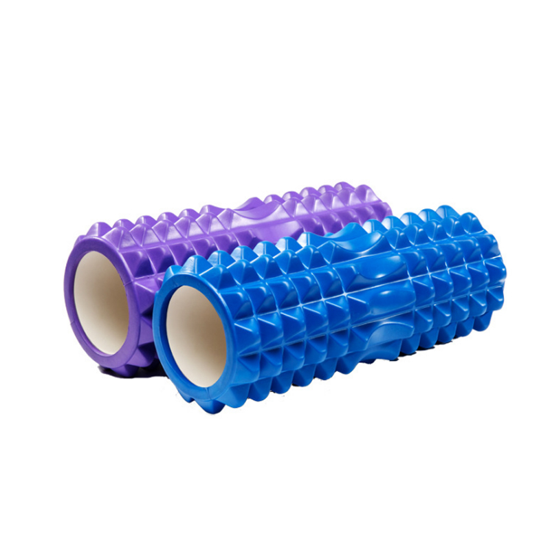 Yoga & Muscle Massage Foam Roller Peanut Shaped Hollow High Density Circular Furnace Tube Relaxation Exercise Shaping Yoga Block