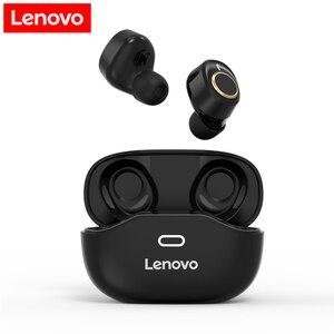 Lenovo X18 Bluetooth 5.0 Wireless Headphones Mini TWS Earbuds Sport Headset In-ear Earphones Touch Control w/ Mic Charging Case