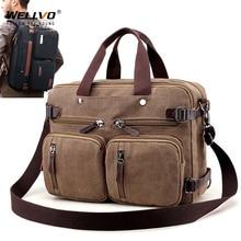 Maletín de lona para hombre, bolso de mano grande para ordenador portátil, informal, de viaje, XA162ZC