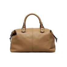 цена на Luxury Boston Big Women Bag Genuine Leather Bag Pillow Women Messenger Bag Handbags Famous Brand High Quality Dollar Price