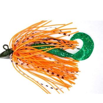 Afishlure Bass Fishing Blade Chatterbait  Trailer 9g 14g 18g Spinnerbait Fishing Jigs Soft Lure Silicone Skirt