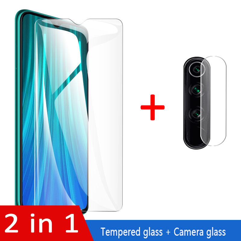 Camera Lens Glass For Xiomi Redmi Note 7 9 Note 8T 9s 8A Screen Protector tempered glass on xiaomi note 8 note8 Pro global glass(China)