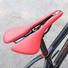 Bicycle Seat Saddle Racing Road Cycling Hollow Shockproof Saddle Pad Women Men Padded Biking Saddle Fixed Gear