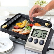 Прочный портативный измерительная игла паста Магнитный семейный пищевой термометр экономичный датчик из нержавеющей стали кухонная печь для приготовления пищи