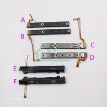 5 قطعة وحدة التحكم الأصلي L R LR الشريحة اليسار اليمين المتزلجون السكك الحديدية لاستبدال نينتندو سويتش NS Joy con وحدات تحكم السكك الحديدية
