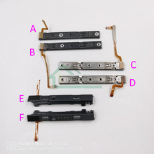 Deslizadores izquierdo y derecho para Nintendo switch, Riel de repuesto para mando de NS Joy con, 5 uds.