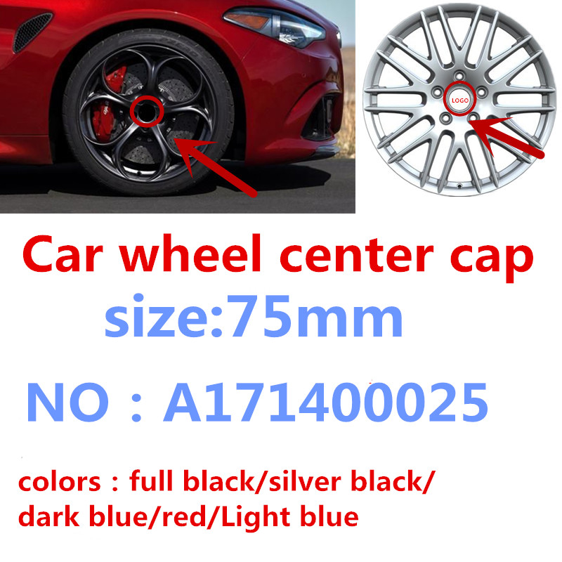 Mercedes Benz Wheel Center Hub Caps Silver//Chrome 75mm A B C CLA CLS Set 4x