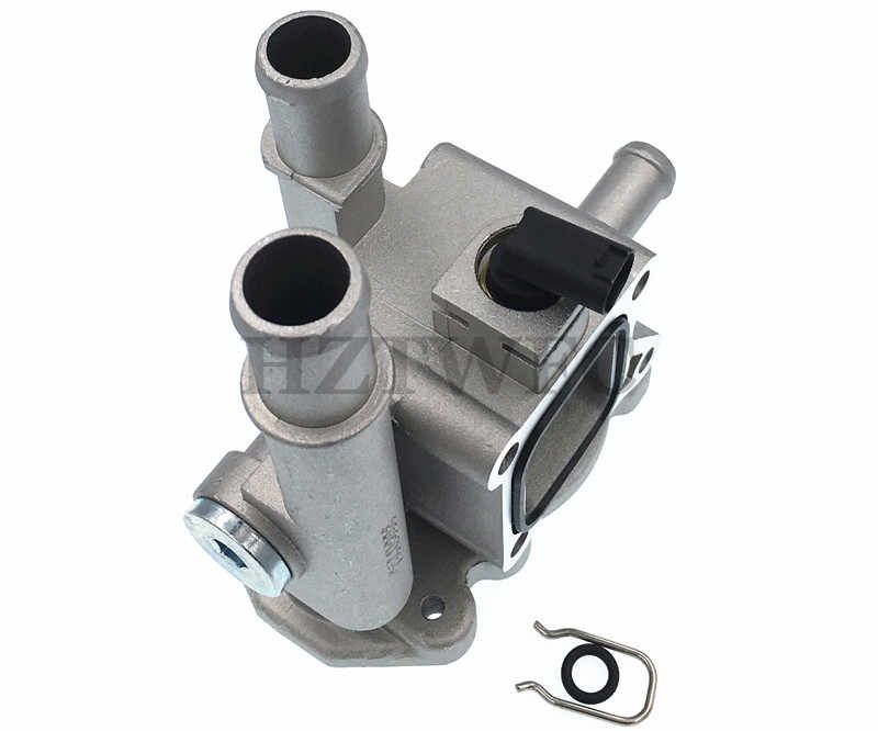 Yeni 96984103 55563530 Cruze Opel Astra için alüminyum motor soğutma termostat konut kapak sensörü yüksek kalite