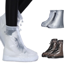 New Unisex Anti-Slip Aqua Shoes Waterproof Protector Boot Cover Rain Shoe Covers High-Top Rainy Day Outdoor