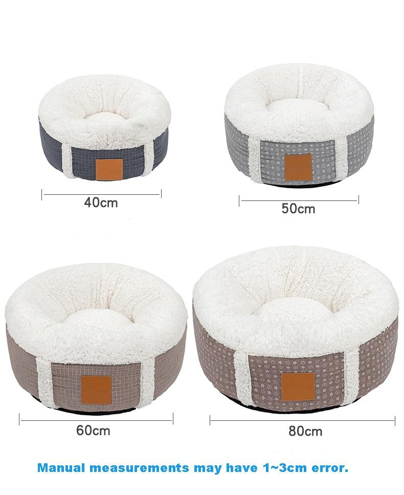 1Pc Comfortable Lamb Cashmere Pet Bed
