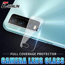 Câmera traseira lente traseira protetor de tela película protetora para vivo y30 y30i y20 y20i y20s y50 transparente claro vidro temperado