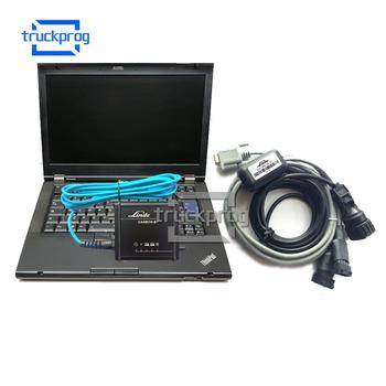 TruckProg do wózka widłowego Linde Canbox BT interfejs USB z T420 Laptop canbox-bt wózek widłowy automatyczne narzędzie diagnostyczne tanie i dobre opinie for Linde Canbox BT USB Interface 20cm 30cm Plastic Silnik analyzer Diagnosis 25cm for linde forklift diagnostic 1 year