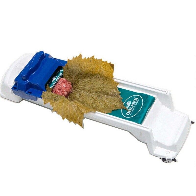 Быстрое креативное растительное мясо для приготовления суши, инструмент для приготовления Волшебная плойка, чучела, капуста, оставляющая виноградный садовый пылесос - Цвет: Blue
