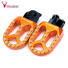 Motorcycle Front Footrest Foot pegs For KTM FREERIDE 250F/250R/350 790/950/990/1050/1190 ADVENTURE/R 1290 SUPER ADVENTURE R/T