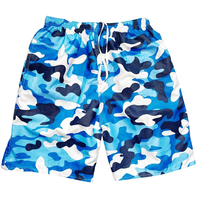 Men Casual Shorts Printed Beach Quick Dry Board Breathable Waterproof  Pant One Size 22 Styles 1