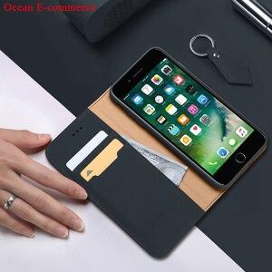 Image 3 - Mode véritable étui en cuir véritable pour Apple iPhone SE 2020 Original DUX DUCIS portefeuille daffaires couverture rabattable pour iPhone SE 2020 étui