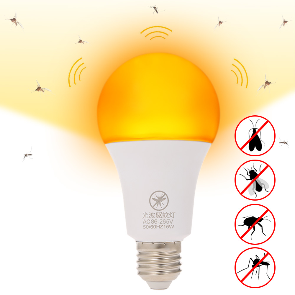 Mosquito killer Lamp E27 LED bulb LED Bug Light Bulb Insect killer Outdoor Anti Mosquito Repellent Light Bulb No UV Night Light