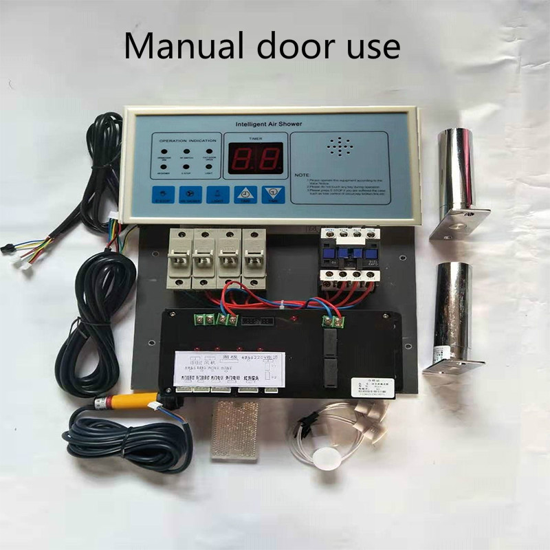 Air shower room accessories,air shower room intelligent controller panel,Intelligent voice interlock control for air shower room