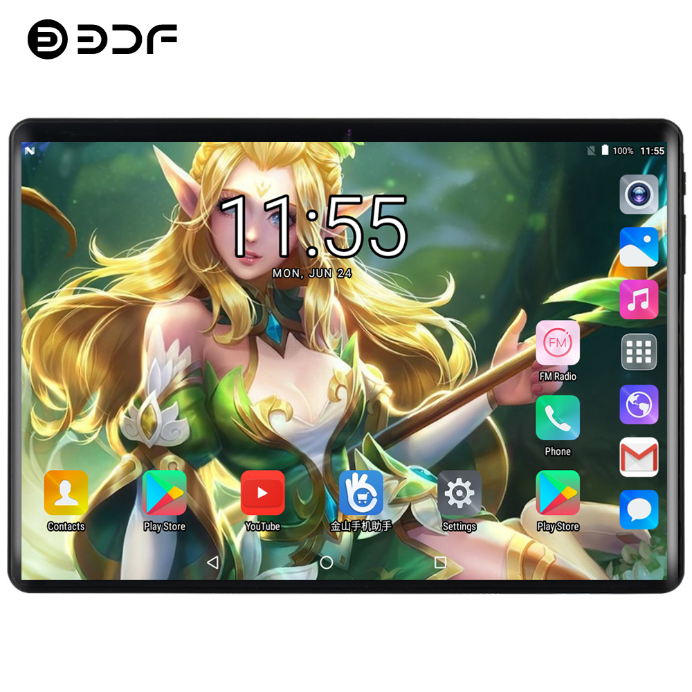BDF 2019 New X20 10 Tablet Android 9.0 10/Ten Core 8GB/128GB Dual Camera 5.0MP SIM Tablet Pc WiFi Bluetooth 4G LTE Phone Tablet